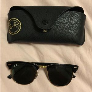 Ray-Ban Clubmaster sunglasses :)